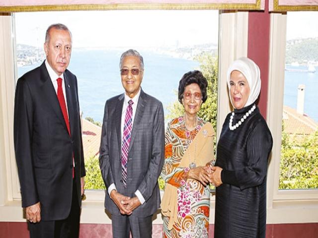 Malezya büyük Başkan Erdoğan
