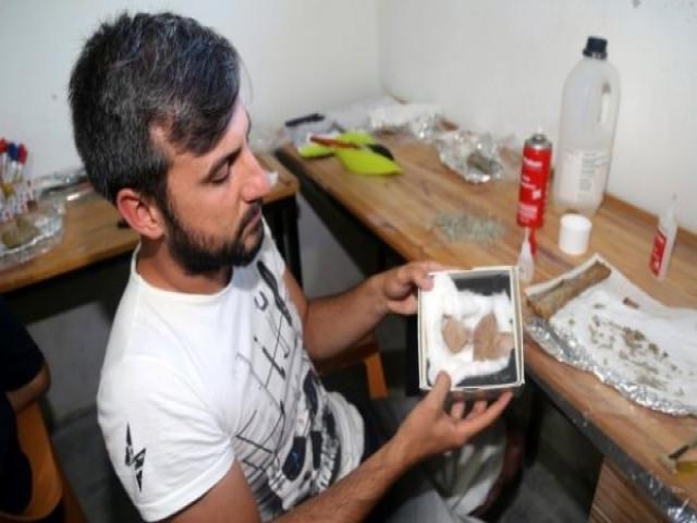 8 milyon yıllık deve kuşu yumurtası bulundu