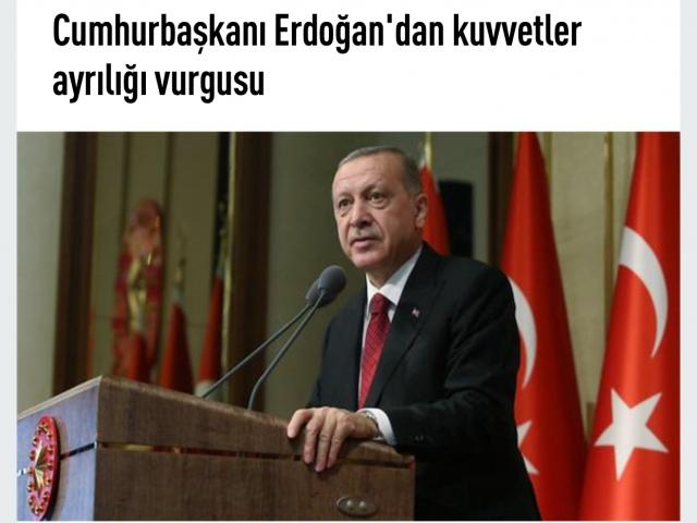 Adli yargı yılında Cumhurbaşkanı Erdoğan'dan önemli açıklamalar