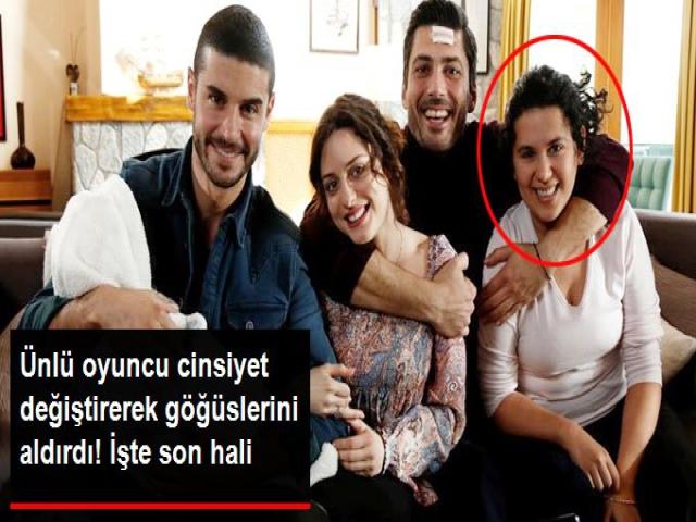 Türk Oyuncu cinsiyet değiştirdi