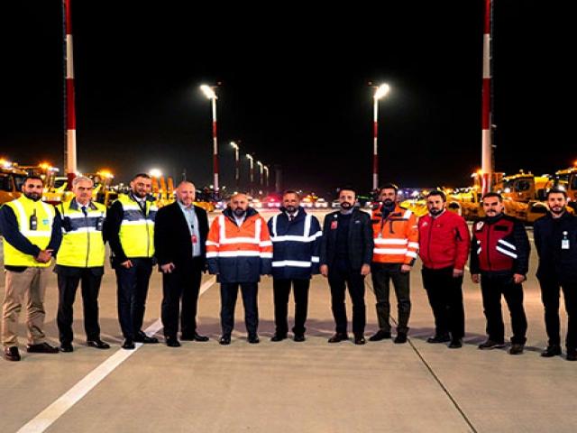 İstanbul Havaalanı Kışa Hazı