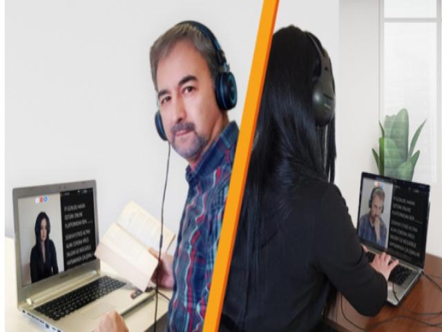 Koronadan dolayı Online Sunuculuk Dönemi
