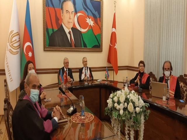 Nişantaşı Üniversitesi'nden Azerbaycan'a Destek.