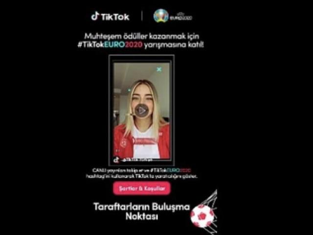 TikTok, EURO 2020 İçin Sponsorluk Çalışmalarına Hız Kesmeden Devam Ediyor