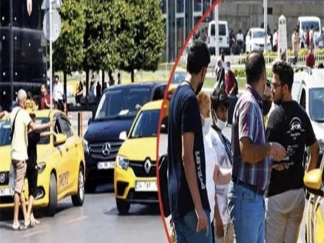 İstanbul'un bitmeyen taksi çilesi mercek altında!