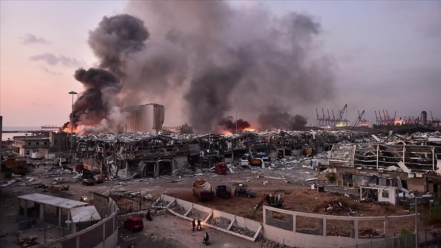Beyrut'taki patlamanın birinci yılında 4 Ağustos 'ulusal yas günü' ilan edildi