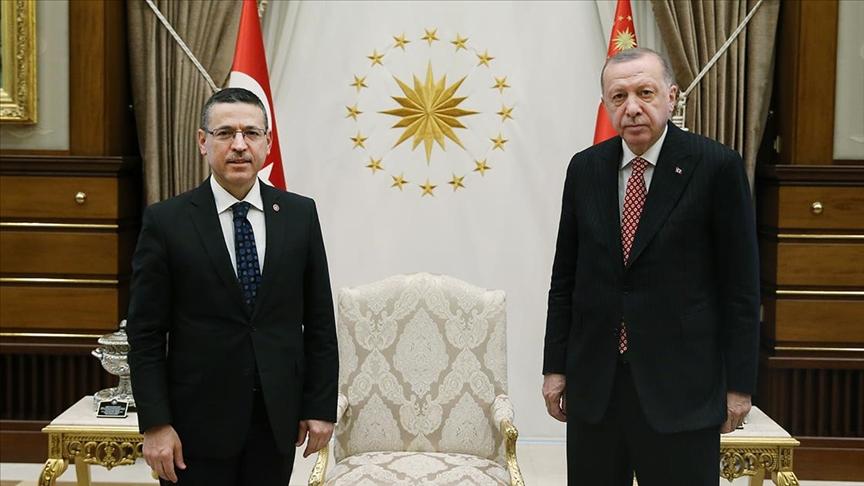 Cumhurbaşkanı Erdoğan Sayıştay Başkanı Baş'ı kabul etti