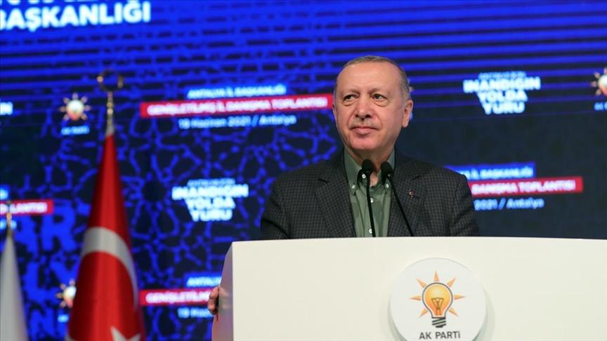 Cumhurbaşkanı Erdoğan: Turizmde asıl hedefimiz 2019'daki 52 milyonluk turist sayısına ulaşmak