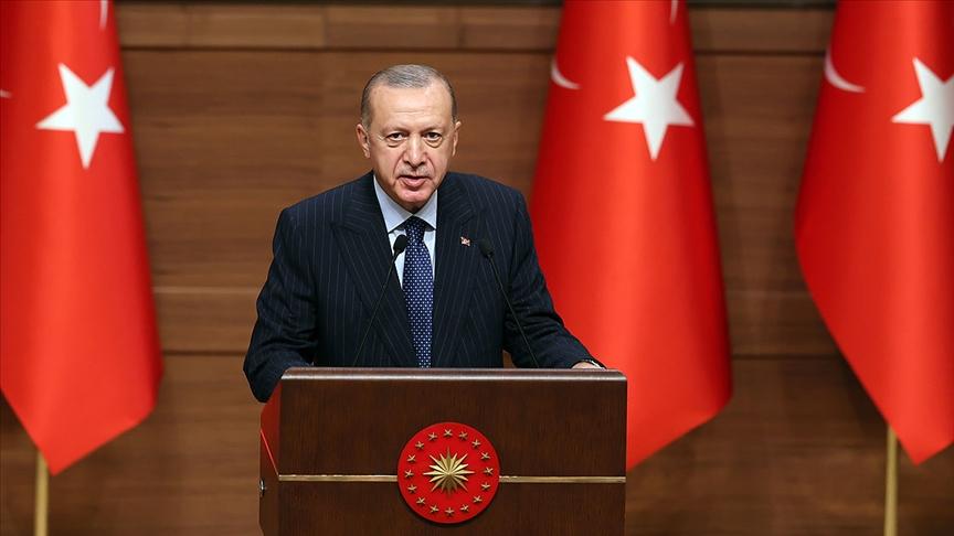 Cumhurbaşkanı Erdoğan: Türkiye'ye yönelik artan yatırım iştahını fırsata çevireceğimize inanıyo