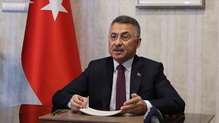 Cumhurbaşkanı Yardımcısı Oktay: Ayasofya Camii'nin aslına rücu etmesi bizim gençlik hayalimizdi