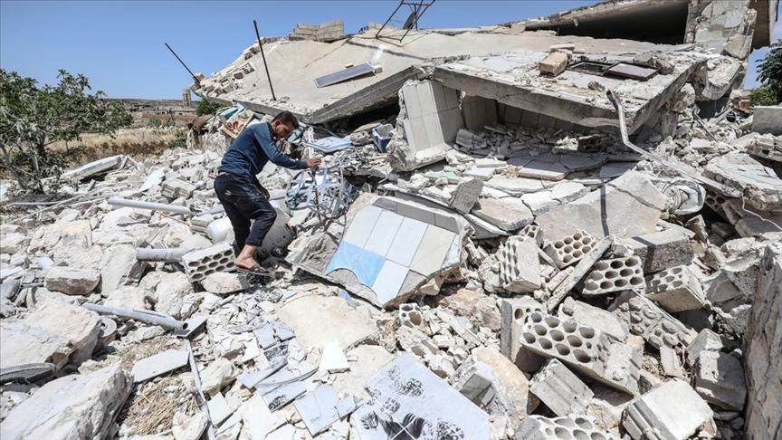 Esed rejiminin İdlib kırsalındaki saldırısında 8 sivil öldü