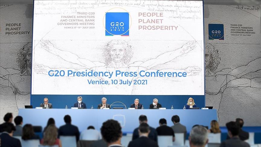 G20 Maliye Bakanları, küresel kurumsal vergiye destek verdi