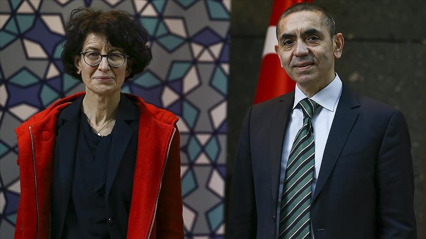 İspanya'nın en büyük bilim ödülü, Uğur Şahin ve Özlem Türeci ile bir grup bilim insanına verild