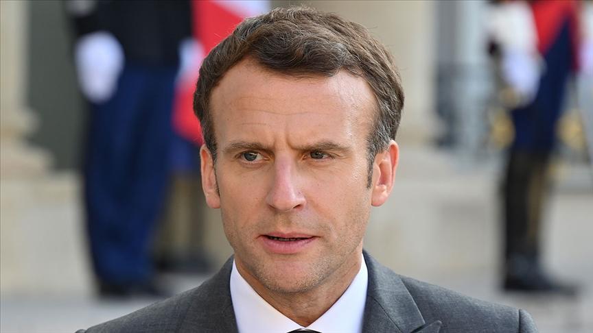 Macron, Fransa'nın Polinezya'da yaptığı nükleer denemeler için 'borç' dedi ama ö