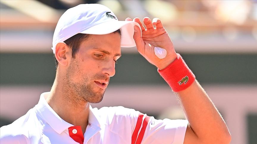 Novak Djokovic'in 'altın-slam' hayali suya düştü