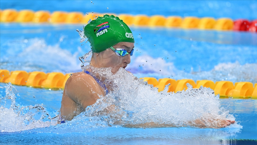 Oyunların yedinci gününde yüzmede bir dünya, iki de olimpiyat rekoru kırıldı