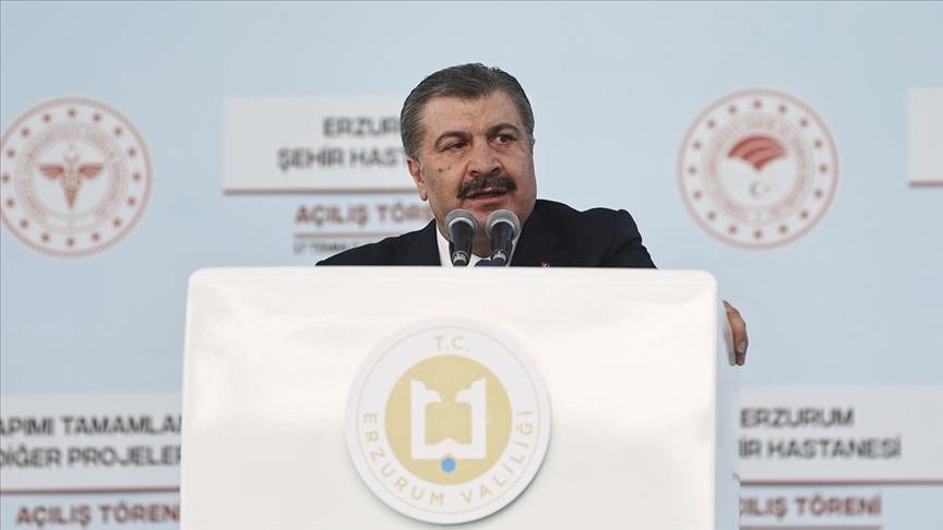 Sağlık Bakanı Koca'dan 'Kovid-19 tedbirlerine uyalım, aşımızı bir an evvel olalım' ça