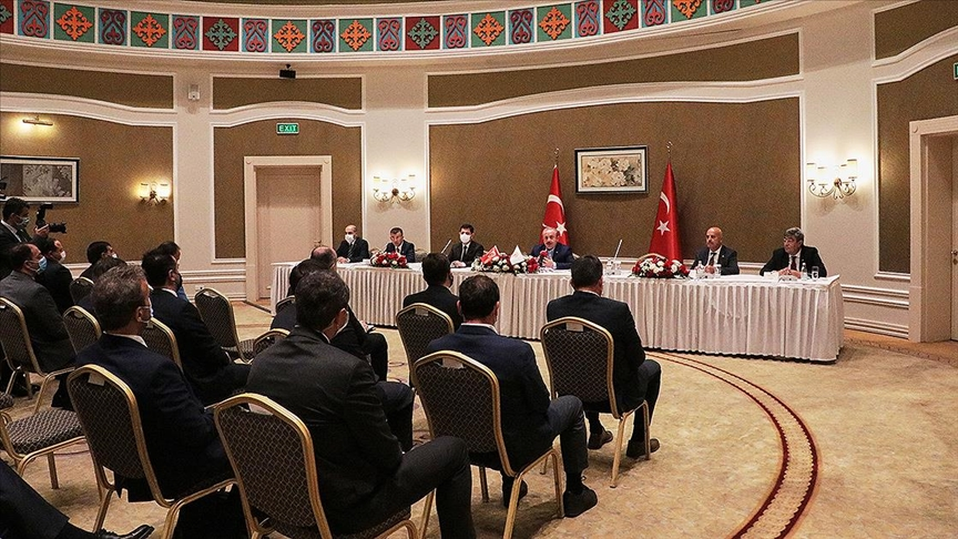 TBMM Başkanı Şentop: Salgın döneminde Kazakistan ile ticaret hacmimizde artış var