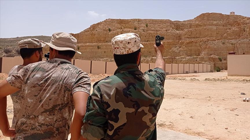 Türk askeri, Libyalı askerlere 'keskin nişancı eğitimi' verdi