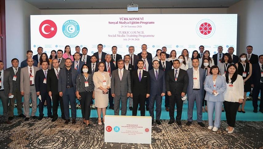 Türk Konseyi'ne üye ülkelere yönelik düzenlenen Sosyal Medya Eğitim Programı başladı