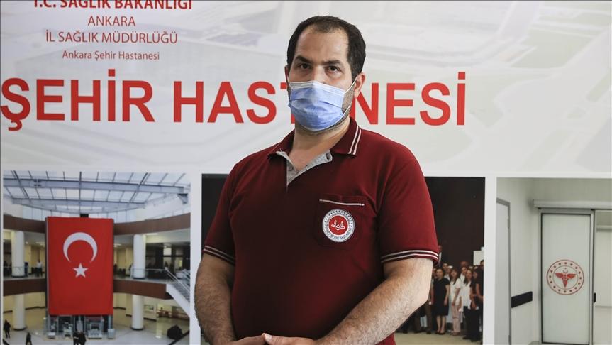 'TURKOVAC'ın Faz-3 gönüllülerinden Polat: İnsanlığa faydalı olmak istiyorum