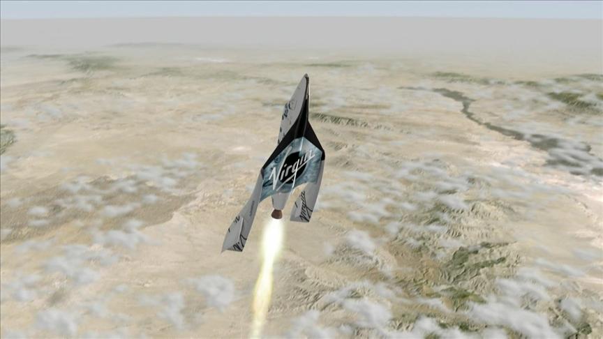 Virgin Galactic pilotları uzay yolculuğuna Türk şirketinin yazılımıyla hazırlanıyor