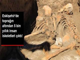 5 bin yıllık insan iskeleti