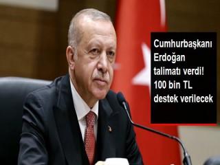 Cumhurbaşkanı Erdoğan'dan Eminönü esnafına 100 bin TL kredi talimatı