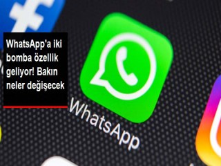 Whatsapp iki özellikle geliyor