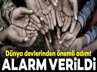 Dünya devlerinden 'yoksulluk alarmı'