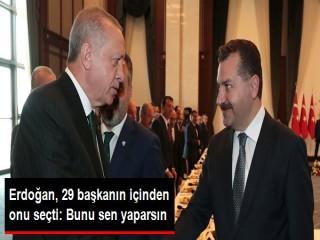 Erdoğan'dan, Balıkesir Büyükşehir Belediye Başkanı'na özel görev