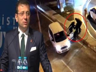İmamoğlu'nun korumaları bir kişiyi trafikte darp etti