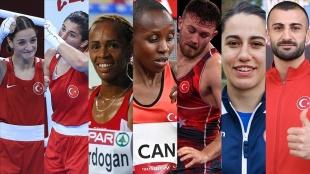 2020 Tokyo Olimpiyat Oyunları'nın 15'inci gününde 7 Türk sporcu madalya mücadelesine çıkac