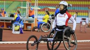 2020 Tokyo Paralimpik Oyunları'nda atletizmde kadınlar 100 metrede Zübeyde Süpürgeci finale çık