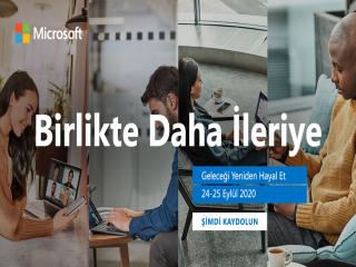 """Microsoft Türkiye'den """"Birlikte Daha İleriye"""""""
