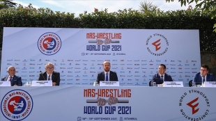 2021 Dünya Mas Güreşi Şampiyonası 18-19 Eylül'de İstanbul'da gerçekleştirilecek