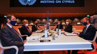 5+1 gayriresmi Kıbrıs konferansı ikinci gününde Cenevre'de devam ediyor