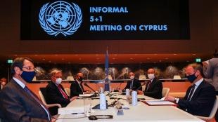 5+1 gayriresmi Kıbrıs konferansının son gününde taraflar Cenevre'de bir araya geldi
