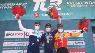 56. Cumhurbaşkanlığı Türkiye Bisiklet Turu'da 6. etabın galibi Belçikalı Philipsen
