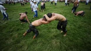 61. Geleneksel Kurtdereli Yağlı Güreşleri başladı