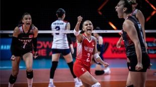 A Milli Kadın Voleybol Takımı FIVB Milletler Ligi'nde dörtlü finale kalmayı başardı