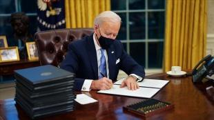ABD Başkanı Joe Biden, asgari ücret artışına ilişkin kararnameyi imzaladı