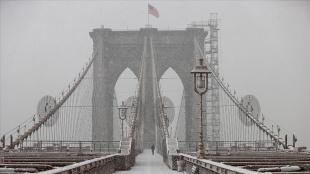 ABD'de 2 binden fazla uçak seferi kar fırtınası nedeniyle iptal edildi