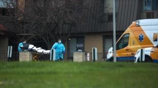 ABD'de son 24 saatte 247 kişi Kovid-19 nedeniyle yaşamını yitirdi