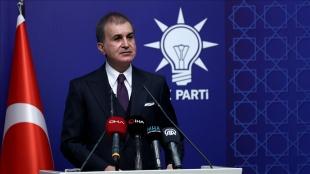 AK Parti Sözcüsü Çelik: MYK'miz kayıtsız ve şartsız bir şekilde bu bildiriye karşıdır