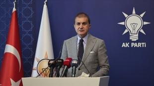 AK Parti Sözcüsü Çelik: Türkiye hiç kimsenin göçmen kampı değildir