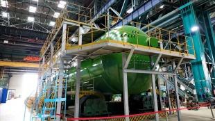 Akkuyu NGS'nin ikinci ünitesinde kullanılacak ilk buhar jeneratörünün üretimi tamamlandı