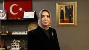 AKPM Türk Heyeti Üyesi Serap Yaşar'dan Avrupa'da kaybolan mülteci çocuklar için dünyaya ça