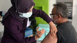 Amasya'da en az bir doz aşı olanların oranı yüzde 75'i geçti