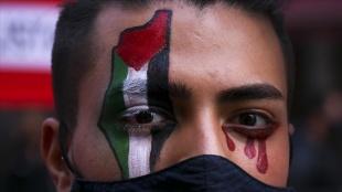 Arjantin'de 'İsrail'i kınama, Filistin ile dayanışma' gösterisi düzenlendi